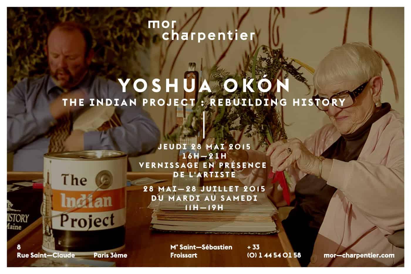 Invitation Yoshua Okon