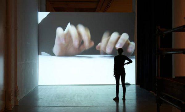 Studio, 2005-2007 (Video, loop, color, mono sound – Exhibition view, Spike Island, Bristol, 2014 © Stuard Whips)