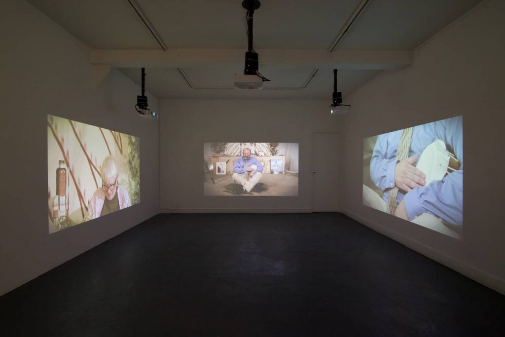 The Indian Project, 2015 (Video installation – Exhibition view, mor charpentier, Paris, 2015)